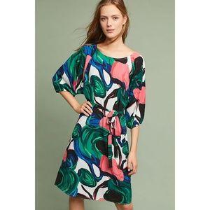 NEW Anthropologie Callalily Kimono Rose Dress LG